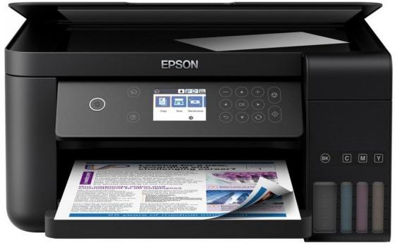 МФУ Фабрика печати EPSON L6160 цветное A4 33/20ppm 4800x1200dpi Wi-Fi C11CG21404 мфу epson l6160