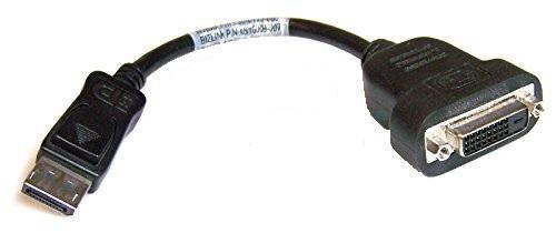 Переходник PNY DisplayPort - DVI черный