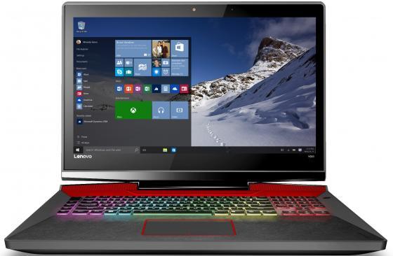 Ноутбук Lenovo IdeaPad Y900-17 17.3 1920x1080 Intel Core i7-6700HQ 1 Tb 128 Gb 8Gb nVidia GeForce GTX 980M 4096 Мб черный Windows 10 Home ноутбук lenovo ideapad y900 intel core i7 6700hq 17 3 16gb 1tb 128gb gtx 980m w10 64 80q1001grk