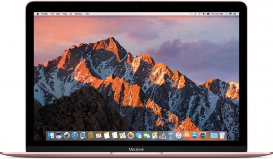 Ноутбук Apple MacBook 12 2304x1440 Intel Core i5 512 Gb 8Gb Intel HD Graphics 615 розовый macOS MNYN2RU/A ноутбук apple macbook 12 early retina core m3 1 1ghz 12 8gb ssd256gb hd graphics 5300 macos x silver mlha2ru a