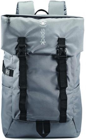 Рюкзак для фотокамеры 15 Speck Rockhound Oss полиэстер серый 89100-1174 рюкзак для ноутбука 15 6 speck classic 3 pointer нейлон полиэстер синий 90697 1596