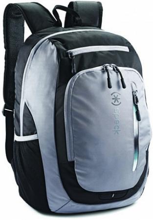 Рюкзак для ноутбука 15.6 Speck Speck Technical Candlepin полиэстер нейлон серый черный рюкзак для ноутбука 15 6 speck classic 3 pointer нейлон полиэстер синий 90697 1596