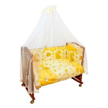 Сменное постельное белье 3 предмета Сонный гномик Мишкин сон (бежевый) сонный гномик плед флисовый бараш сонный гномик бежевый