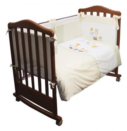 Сменное постельное белье 3 предмета Сонный гномик Пикник (молочный) сменное постельное белье 3 предмета сонный гномик конфетти розовый