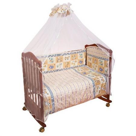 Сменное постельное белье 3 предмета Сонный гномик Считалочка (бежевый) цена