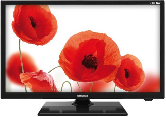 "Телевизор LED 22"" Telefunken TF-LED22S48T2 черный 1920x1080 50 Гц USB HDMI VGA"