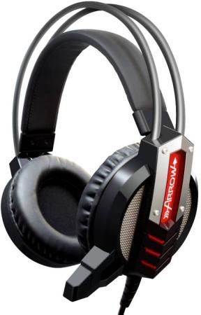Игровая гарнитура проводная Oklick HS-L450G черный проводная гарнитура oklick hs s 310 черный