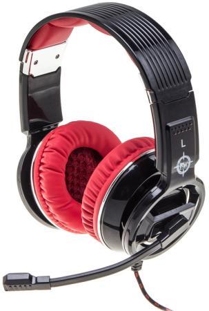 Игровая гарнитура проводная Oklick HS-L350G черный игровая гарнитура oklick hs l930g snorter черный синий hs l930g