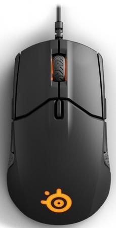 Мышь проводная Steelseries Sensei 310 чёрный USB