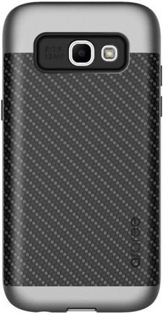 Чехол Samsung для Samsung Galaxy A3 2017 Amy Classic серый GP-A320KDCPBAB