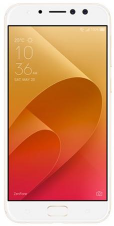 Смартфон ASUS ZenFone 4 Selfie Pro ZD552KL золотистый 5.5 64 Гб LTE Wi-Fi GPS 3G 90AZ01M4-M01010 смартфон asus zenfone zf3 laser zc551kl золотистый 5 5 32 гб wi fi lte gps 3g 90az01b2 m00050
