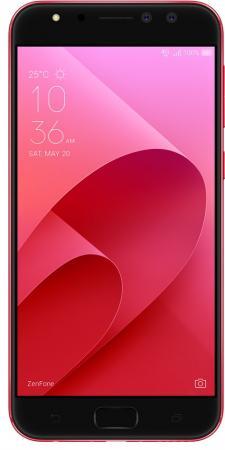 Смартфон ASUS ZenFone 4 Selfie Pro ZD552KL красный 5.5 64 Гб LTE Wi-Fi GPS 3G 90AZ01M9-M01020 смартфон asus zenfone 4 ze554kl черный 5 5 64 гб lte wi fi gps 3g 90az01k1 m01210