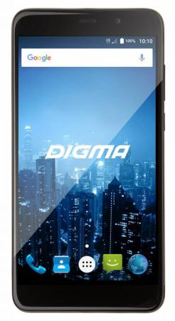 Смартфон Digma CITI POWER 4G черный 5.5 16 Гб LTE Wi-Fi GPS 3G CS5026PL смартфон asus zenfone live zb501kl золотистый 5 32 гб lte wi fi gps 3g 90ak0072 m00140