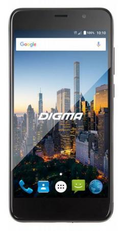 Смартфон Digma CITI MOTION 4G черный 5 16 Гб LTE Wi-Fi GPS 3G CS5025PL смартфон asus zenfone live zb501kl золотистый 5 32 гб lte wi fi gps 3g 90ak0072 m00140