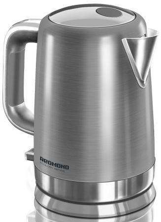 Чайник Redmond RK-M1263 2200 Вт серебристый 1.6 л нержавеющая сталь цена