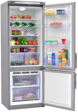 Холодильник Nord DRF 112 ISP серебристый холодильник nord drf 110 isp двухкамерный серебристый