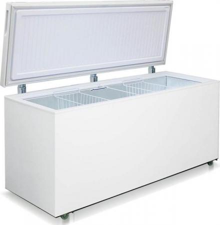 Морозильный ларь Бирюса 560VK белый морозильный ларь nord pf 250