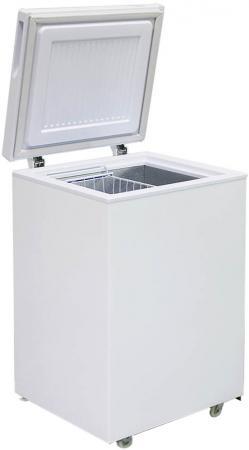 лучшая цена Морозильный ларь Бирюса 100VK белый