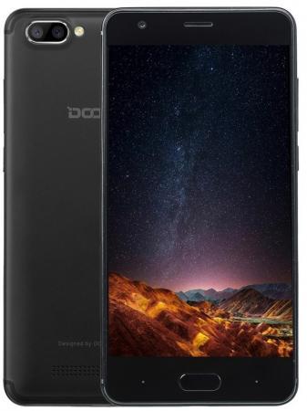 Смартфон Doogee X20L черный 5 16 Гб LTE Wi-Fi GPS 3G 4G смартфон meizu m5c черный 5 2 16 гб lte wi fi gps 3g mzu m710h 16 bk