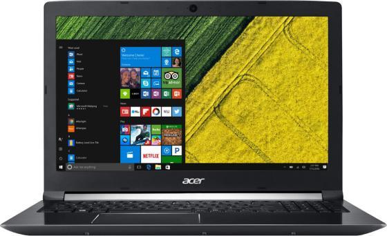 """Ноутбук Acer Aspire 7 A715-71G-51J1 15.6"""" 1920x1080 Intel Core i5-7300HQ 500 Gb 8Gb nVidia GeForce GTX 1050 2048 Мб черный Windows 10 Home NX.GP8ER.008 ноутбук acer aspire a717 71g 7817 17 3"""
