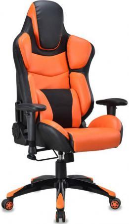 компьютерное кресло бюрократ ch 513axn jp 15 6 bordo Кресло компьютерное игровое Бюрократ CH-773/BLACK+OR черный/оранжевый