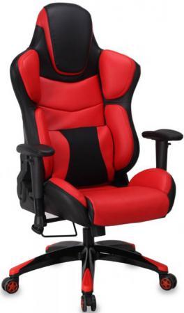 компьютерное кресло бюрократ ch 513axn jp 15 6 bordo Кресло компьютерное игровое Бюрократ CH-773/BLACK+R черный/красный