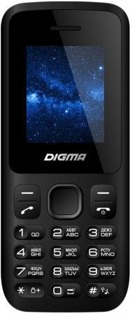 Мобильный телефон Digma A101 2G Linx черный 1.8 4 Мб