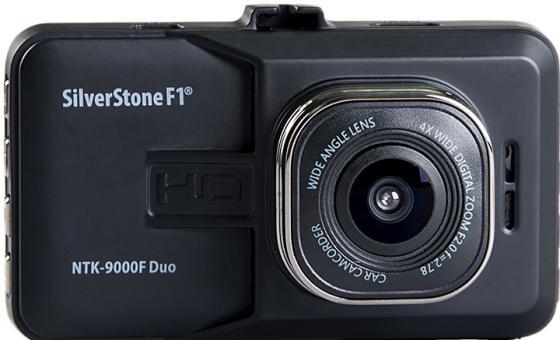 Видеорегистратор Silverstone F1 NTK-9000F Duo 3 320x240 120° microSD microSDHC датчик движения USB HDMI черный видеорегистратор silverstone f1 crod a85 fhd 1 5 960 240 170° microsd microsdhc датчик движения usb hdmi черный