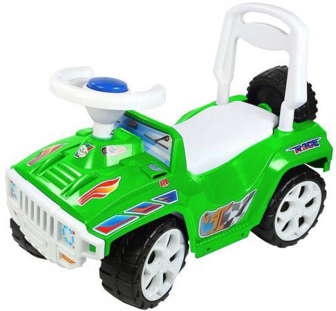 Каталка-машинка Rich Toys Race Mini Formula 1 ОР419к пластик от 10 месяцев на колесах зеленый каталка машинка r toys mini formula 1 пластик от 10 месяцев на колесах розовый ор856