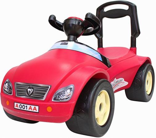 Каталка-машинка Rich Toys Мерсик пластик от 8 месяцев на колесах розовый велосипед двухколёсный rich toys ba camilla 14 1s розовый kg1417