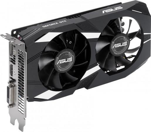 купить Видеокарта 2048Mb ASUS GeForce GTX1050 PCI-E 128bit GDDR5 DVI HDMI DP HDCP DUAL-GTX1050-2G-V2 Retail недорого