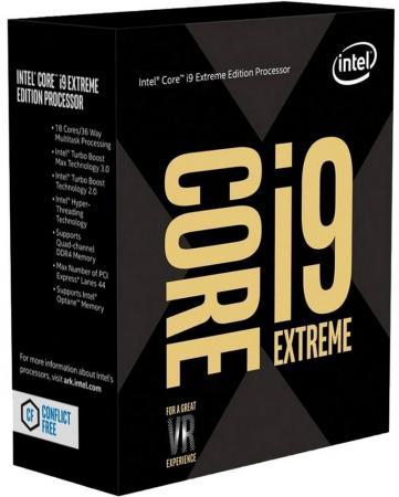 Процессор Intel Core i9-7980XE 2.6GHz 24Mb Socket 2066 Box процессор intel core i9 7900x 3 3ghz 10mb socket 2066 oem