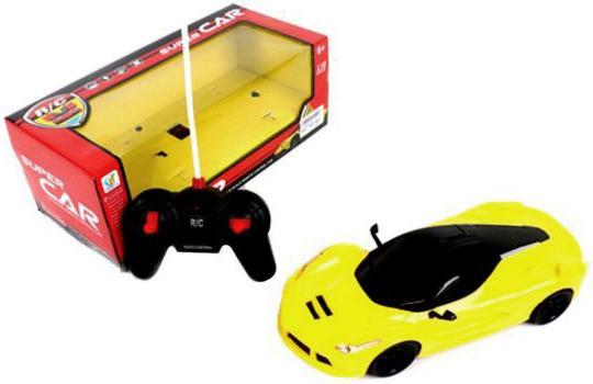 Машинка на радиоуправлении Shantou Gepai Суперкар, 4 канала желтый от 3 лет пластик 567-A6 машинка на радиоуправлении shantou gepai super car 4 канала оранжевый от 6 лет пластик 567 a5