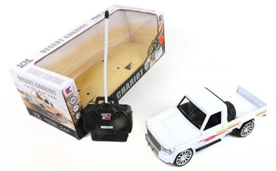Машинка на радиоуправлении Shantou Gepai 637199 белый от 3 лет пластик, металл машинка на радиоуправлении shantou gepai chevrolet camaro красный от 3 лет пластик 1623 2a
