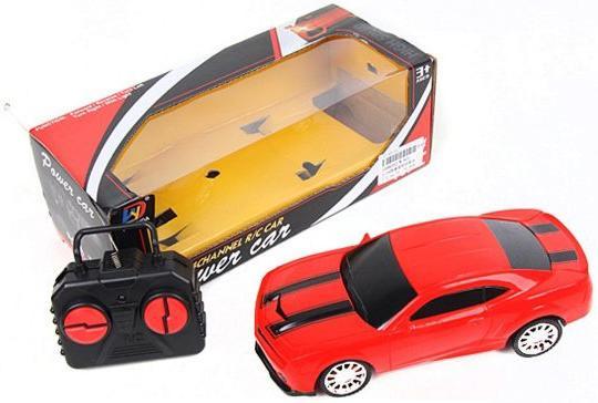 Машинка на радиоуправлении Shantou Gepai Power Car, 4 канала красный от 3 лет пластик W-820