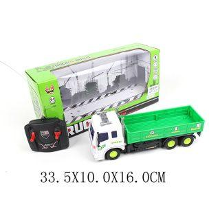 Машинка на радиоуправлении Shantou Gepai Бортовой грузови зелёный от 6 лет пластик, металл военный автомобиль на радиоуправлении tongde в72398 пластик от 3 лет зелёный