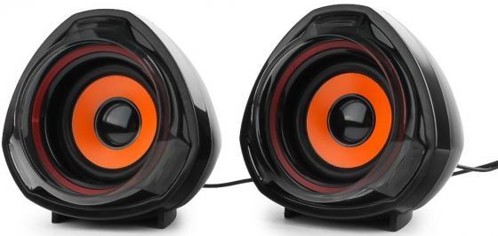 Колонки Gembird SPK-105 2х2.5 Вт черный