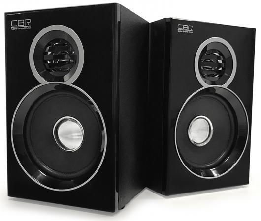 Колонки CBR CMS 660 2x3 Вт черный