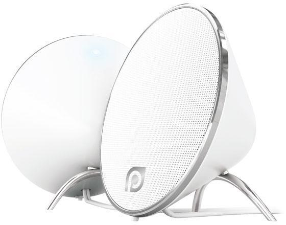 Колонки Perfeo Duet PF-2017-W 2x5 Вт USB белый perfeo pf nnm white