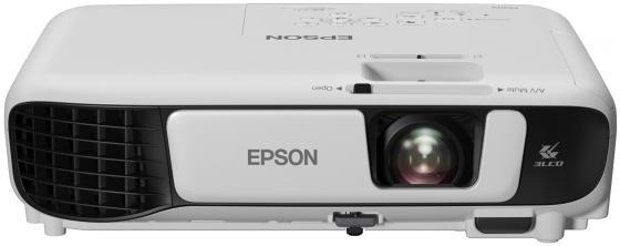 Проектор Epson EB-S41 800x600 3300 люмен 15000:1 белый V11H842040 автомобильный телевизор eplutus ep 900t
