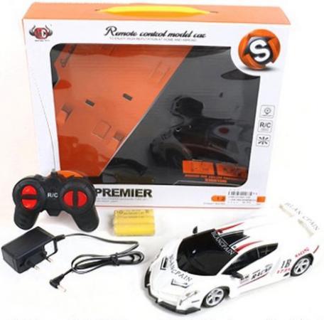 Машинка на радиоуправлении Shantou Gepai Blancpain, 4 канала белый от 3 лет пластик 666-25D игрушка shantou gepai машина перевертыш 666 858