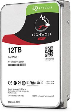 Жесткий диск 3.5 12 Tb 7200rpm 256Mb cache Seagate Ironwolf SATAIII ST12000VN0007 накопитель на жестком магнитном диске seagate жесткий диск hdd 8tb seagate ironwolf st8000vn0022 3 5 sata 6gb s 256mb 7200rpm