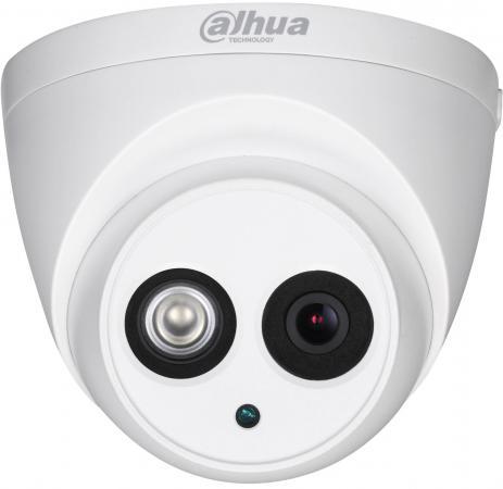 Купить со скидкой Видеокамера IP Dahua DH-HAC-HDW1100EMP-A-0280B-S3 2.8-2.8мм цветная корп.:белый