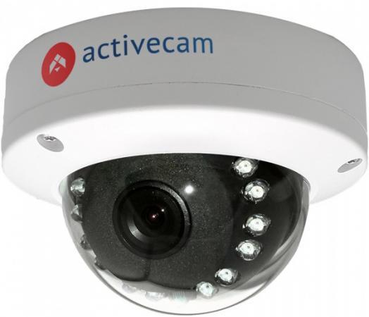 Видеокамера ActiveCam AC-D3121IR1 CMOS 1/2.7 3.6 мм 1920 x 1080 H.264 — PoE белый видеокамера ip activecam ac d7121ir1