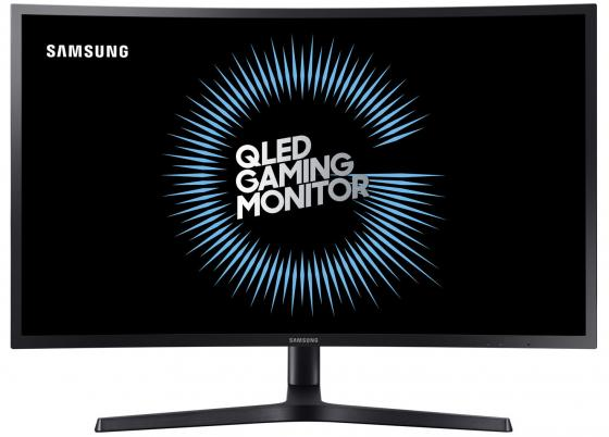Монитор 27 Samsung C27HG70QQI черный VA 2560x1440 350 cd/m^2 1 ms HDMI DisplayPort C27HG70QQIX/CI