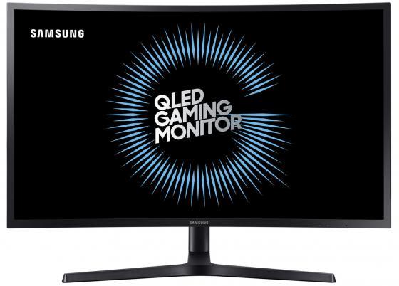 Монитор 27 Samsung C27HG70QQI черный VA 2560x1440 350 cd/m^2 1 ms HDMI DisplayPort монитор 27 samsung c27fg73fqi cерый va 1920x1080 350 cd m^2 1 ms hdmi displayport аудио