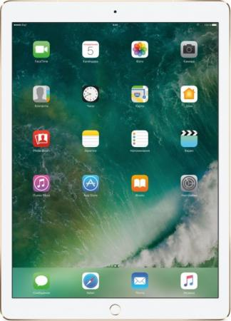 Планшет Apple iPad Pro 12.9 64Gb золотистый LTE 3G Wi-Fi Bluetooth iOS MQEF2RU/A планшет apple ipad pro 12 9 64gb золотистый wi fi bluetooth ios mqdd2ru a