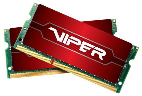 Оперативная память для ноутбуков SO-DDR4 32Gb (2x16Gb) PC4-19200 2400MHz DDR4 DIMM Patriot PV432G240C5SK