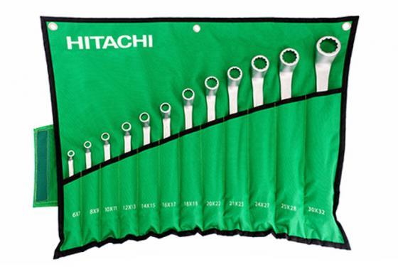Купить со скидкой Набор гаечных ключей Hitachi HTC-774019 12шт