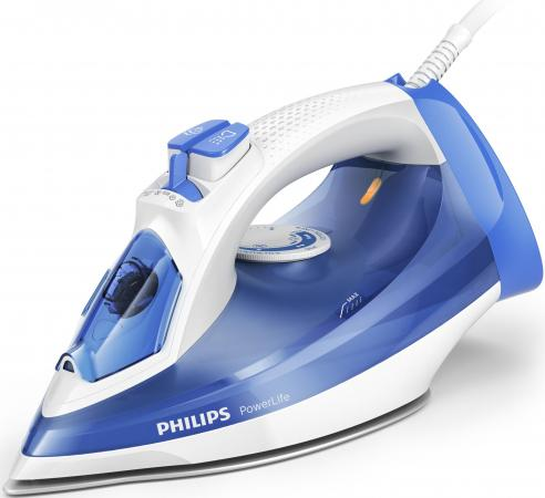Утюг Philips GC2990/20 2300Вт синий белый утюг philips gc 651 02 800вт дорожный белый
